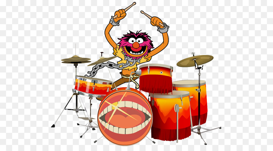 Animal Kermit The Frog Drummer The Muppets Drum 576 491