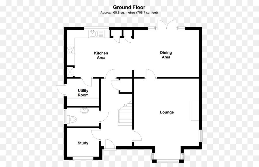 Denah Rumah Lantai Kamar Rumah Unduh Denah Putih Teks Hitam