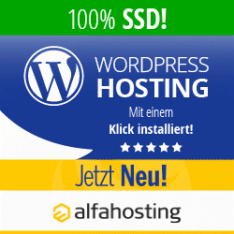 Alfahosting - WordPress-Hosting