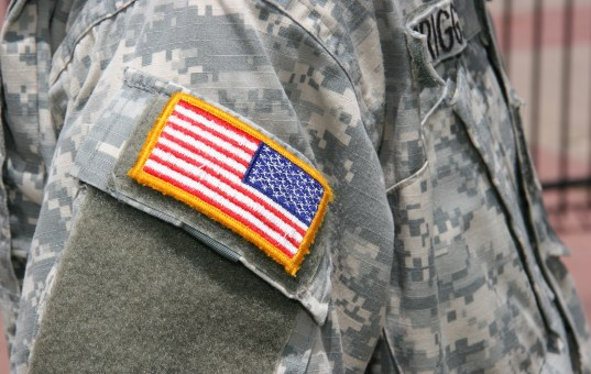 U.S. flag insignia to be worn by all