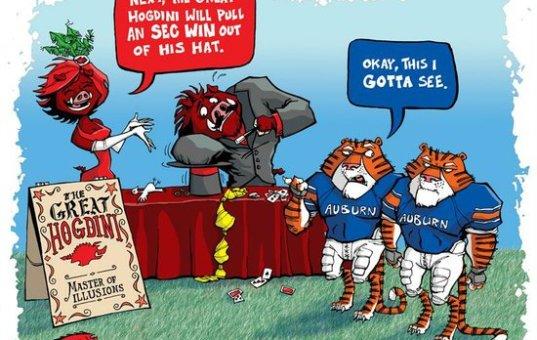 Razorback Football and Sarah Palin's Loosing Streak