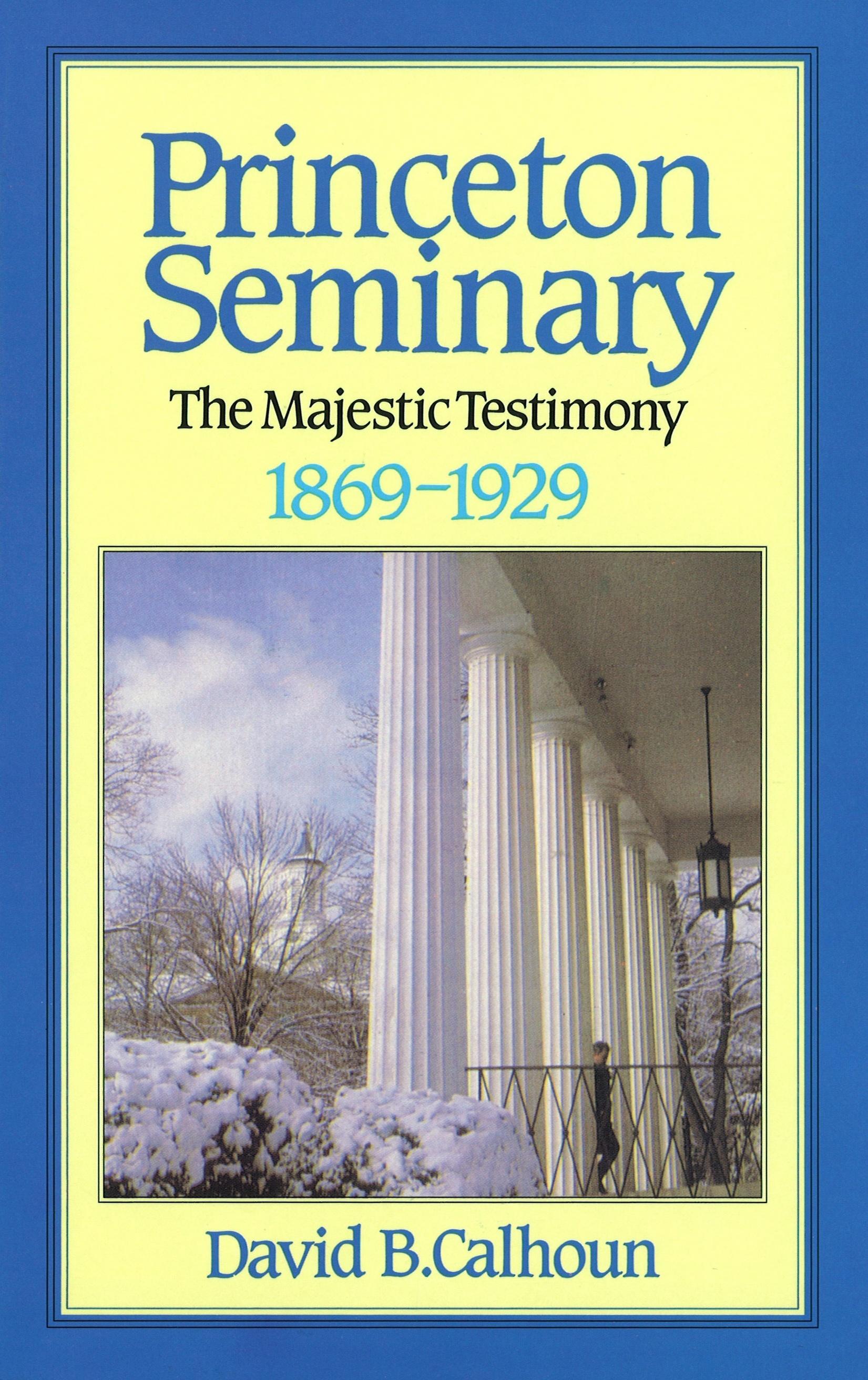 princeton theological seminary dissertations