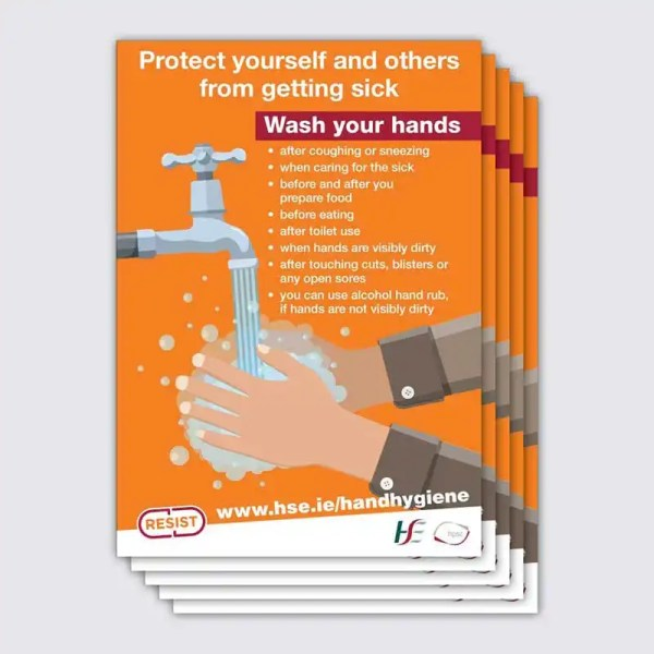 Covid 19 Hand Hygiene Poster