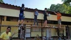 ปรับปรุงทาสีอาคารเรียนโรงเรียนบ้านหาดยาว