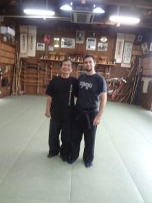 Shiraishi Sensei at Bujinkan Hombu Dojo, 2013. Japan.