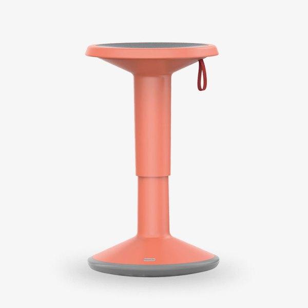 upis1 rosa höjbar sänkbar pall kontorsmöbler