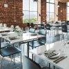 miljöbild bord fällbart stolar stapelbara