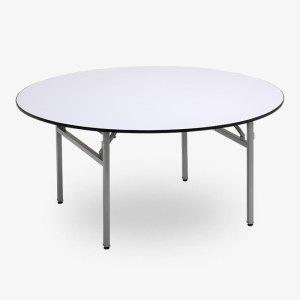 fällbart runt restaurangbord vit, runda bord, runt bord