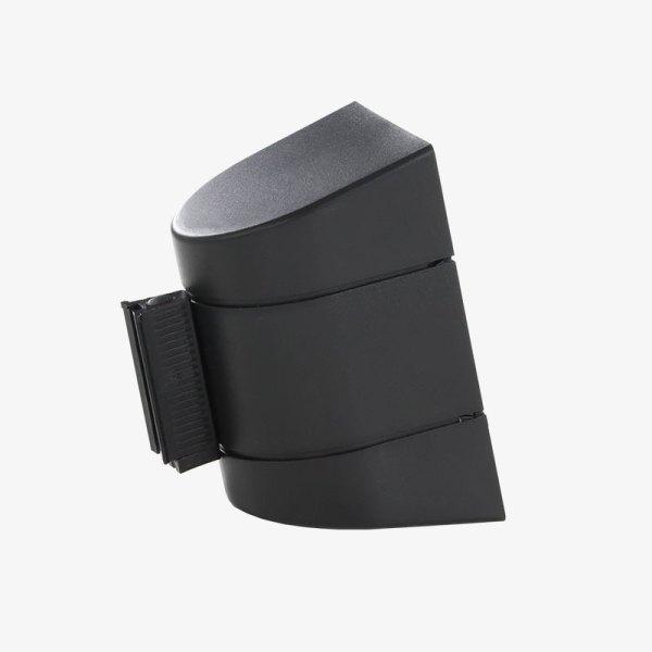Väggkassett Plast - Svart platsskal, svart band - Band