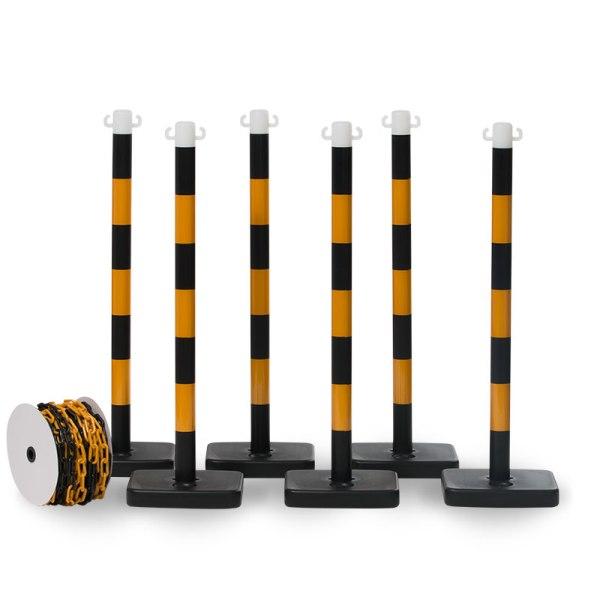 avspärrningskit svart/gul