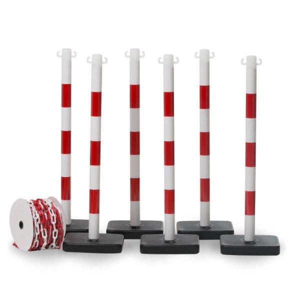 avspärrningskit röd/vit