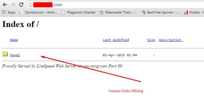 Cara Mengganti URL Login WordPress (2)