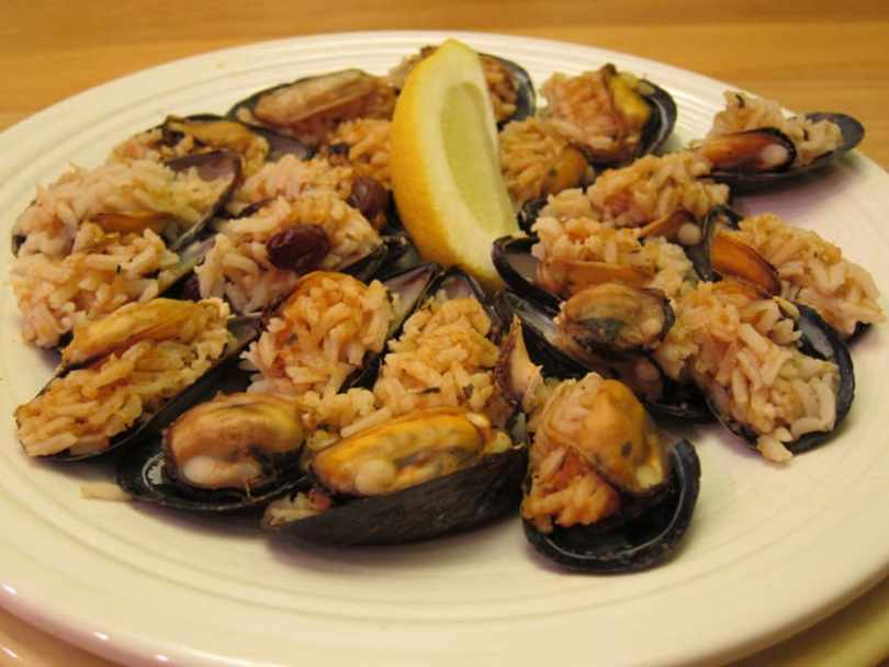Relish the mussels
