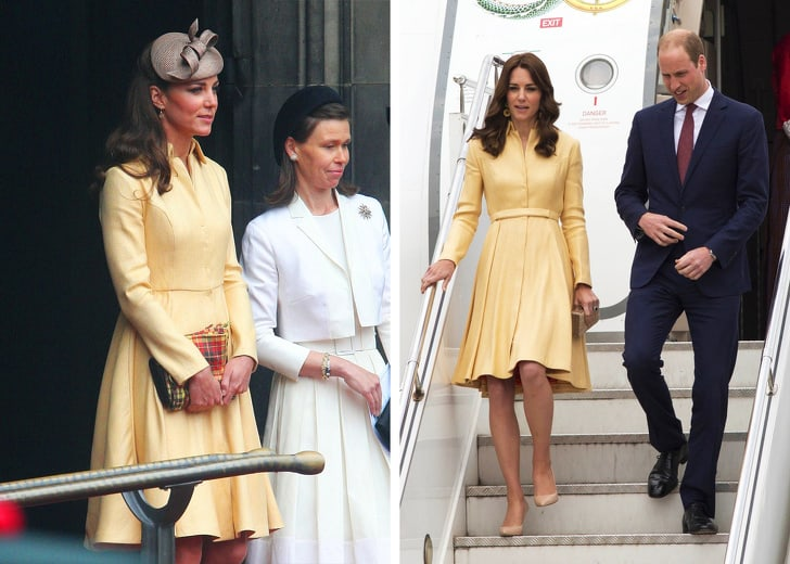 Photos Of Kate Middleton Repeating Dresses And Outfits