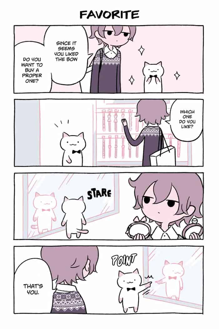 Adorable Cat Comic Created By A Japanese Artist