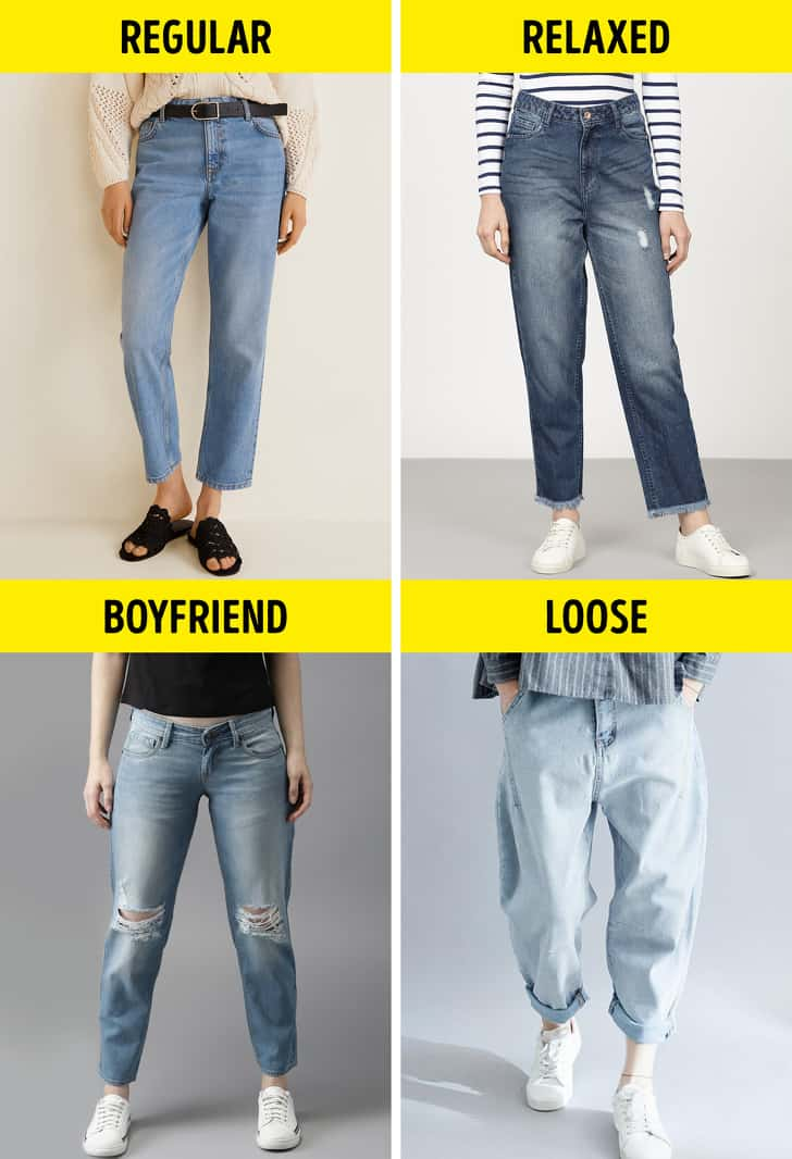 Different types of jeans for women guide to picking the most flattering jeans