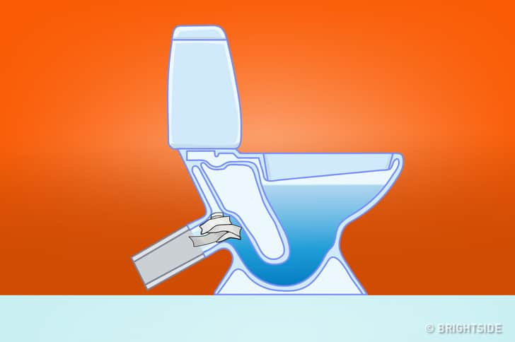 Things you should never flush down