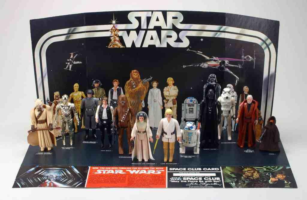 a grande sacada: star wars em brinquedo