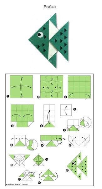 Origami-Fisch