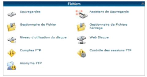 Transfert fichiers depuis serveur hostgator: utilisation du gestionnaire de fichier
