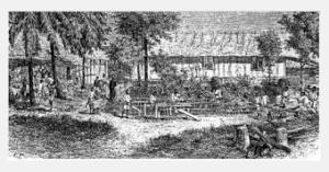 Libreville vers 1860