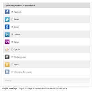 Connexion sociale wordpress plugin