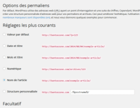 WordPress: pages statiques inaccessibles