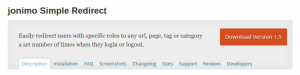 Plugins WordPress Buddypress Redirection
