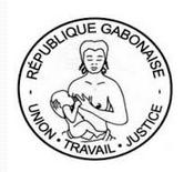 Les armoiries du Gabon: le seaux