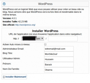 Comment creer un site web avec WordPress part 3