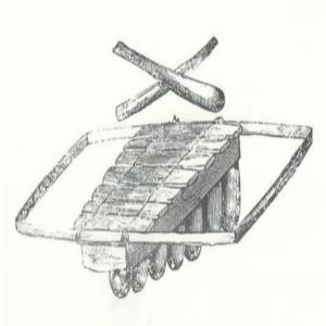 Mendzang Me Yekaba, Xylophone portatif Gabonais