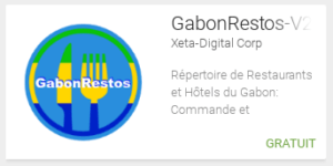 Application pour restaurants et hôtels au Gabon