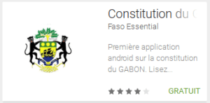 Apps du Gabon