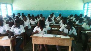 Année blanche au Gabon