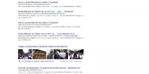 Une année blanche au Gabon, est-ce possible?