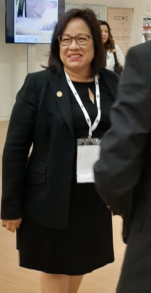 Ivonne Higuero at CoP18