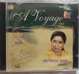 A Voyage Folk Vol-4 Asha Bhosle Hindi Audio CD