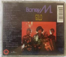 Boney M Gold 20 Super Hits English Audio CD