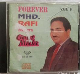 Forever MHD RAFI Duets Geet Mala Hindi Audio CD Vol 9