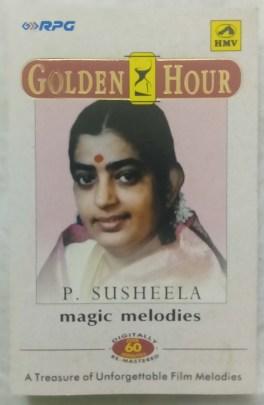 Golden Hour P.Susheela Magic Melodies Kannada Audio Cassette