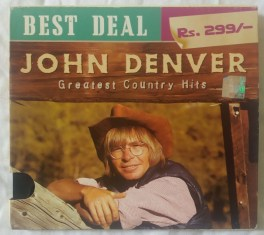 John Denver Greatest Country Hits English Audio CD