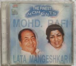 The Finest Moments Mohd. Rafi & Lata Mangeshkar Hindi Audio CD