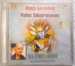 Bhaja Govindam Vishnu Sahasranamam MS. Subbulakshmi Audio Cd
