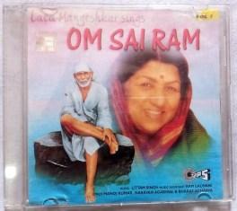Lata Mangeshkar Sings Om Sai Ram Vol 1 audio cd