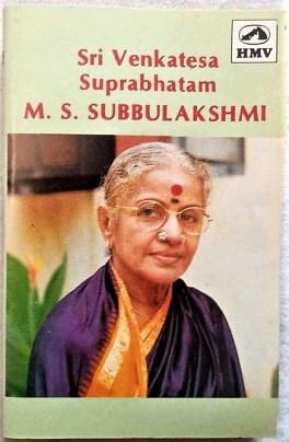 Sri Venkatesa Suprabhatam M S Subbulakshmi Audio Cassettes