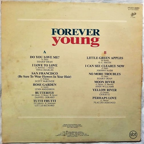 Forever Young English Vinyl Records (2)