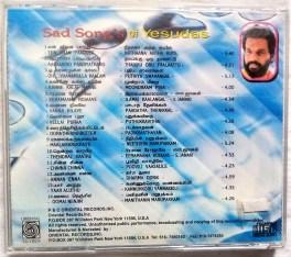 Sad Songs Of Yesudas Tamil Audio CD by Ilaiyaraja