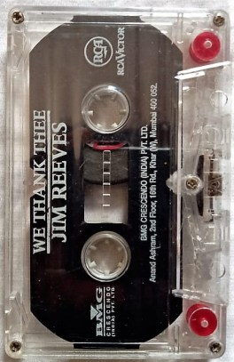 We Thank Thee Jim Reeves English Audio Cassettes