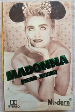 Madonna Dear Jessie Audio Cassettes