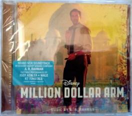 Million Dollar Arm Audio Cd By A.R. Rahman